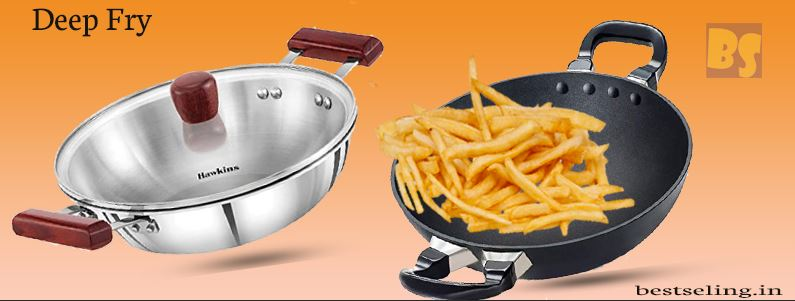 7 Best Kadai For Deep Frying in India (March)2021:[Latest Top Pick]