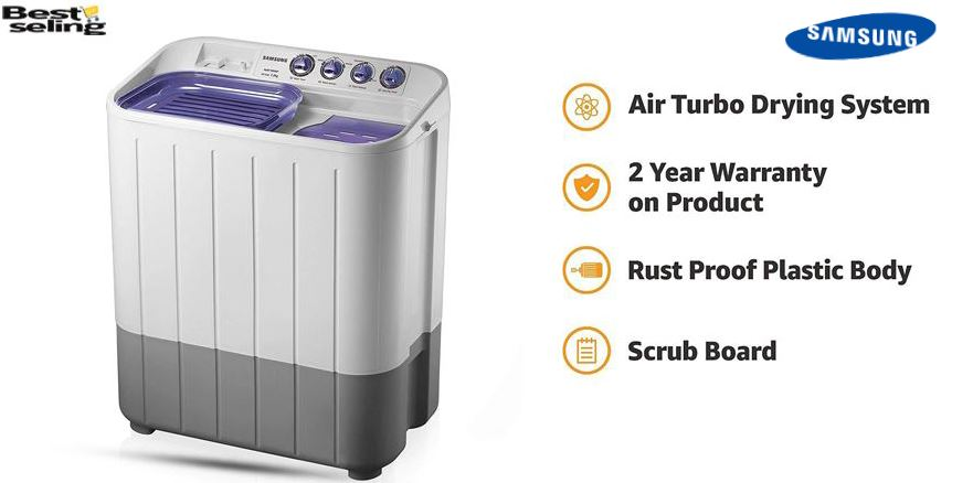 7 Best Semi Automatic Washing Machine Under 20000[Latest Pick]