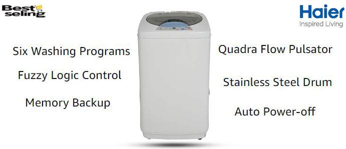 haier fully automatic washing machine