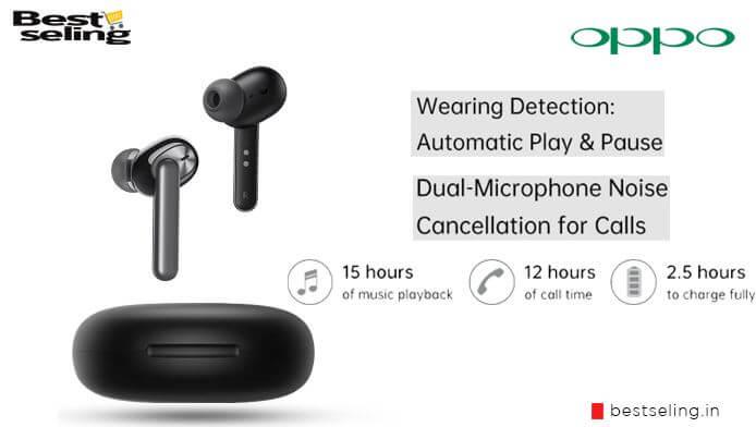 oppo true wireless earbuds