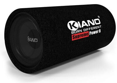 kiano bass tube with subwoofer